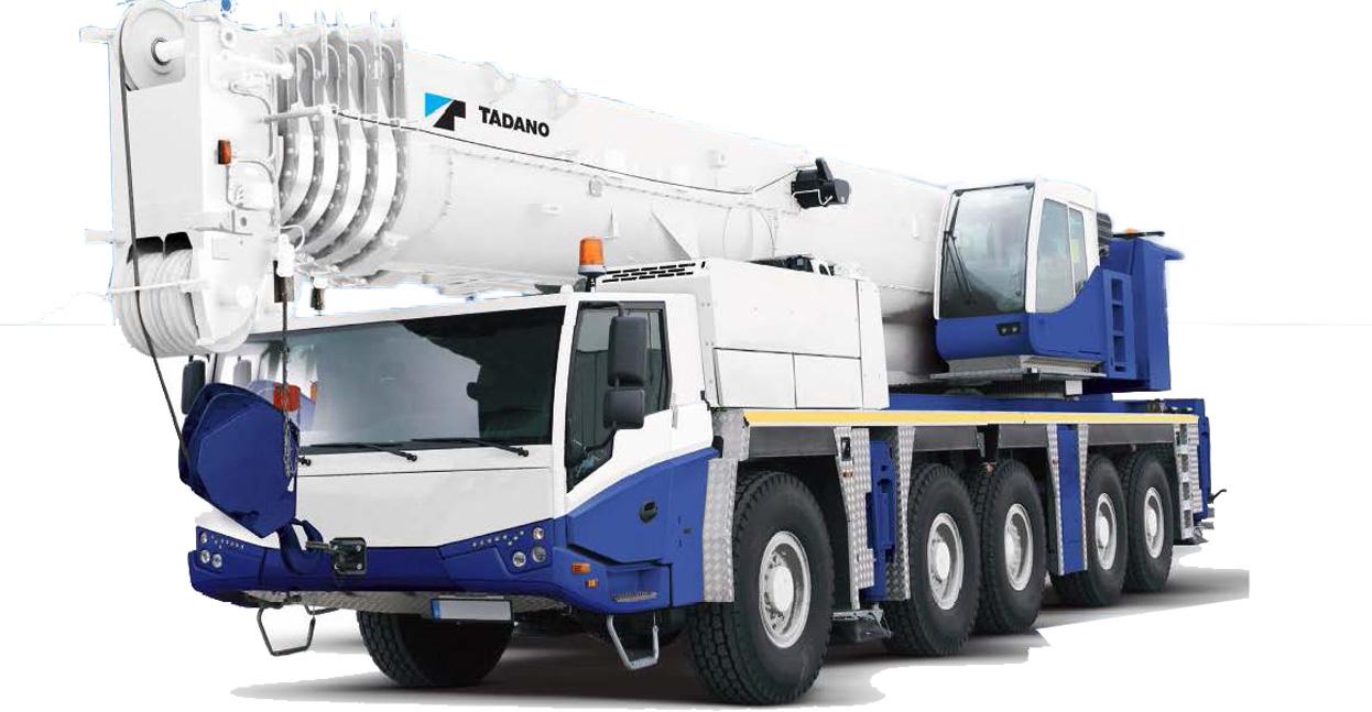 Tadano ATF 180G-5 All Terrain Crane Image