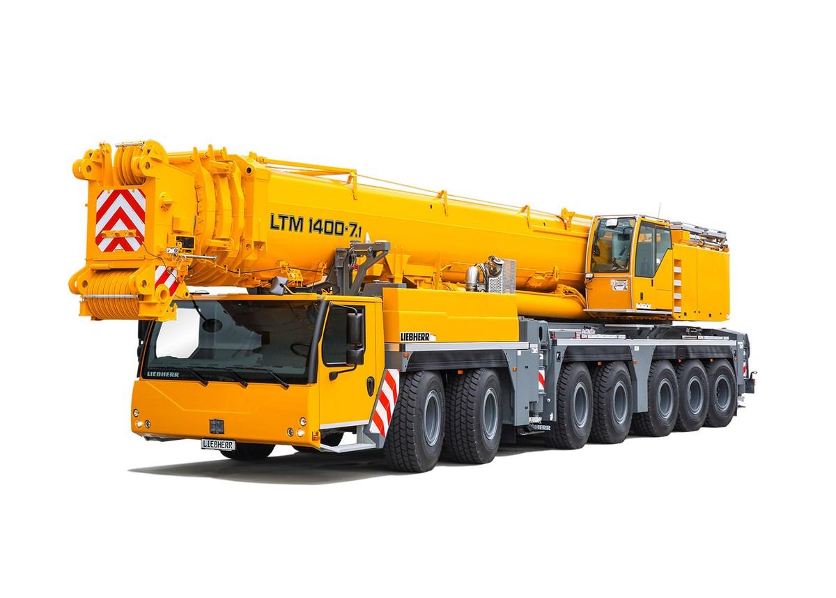 Liebherr LTM 1400-7.1 All Terrain Crane Image